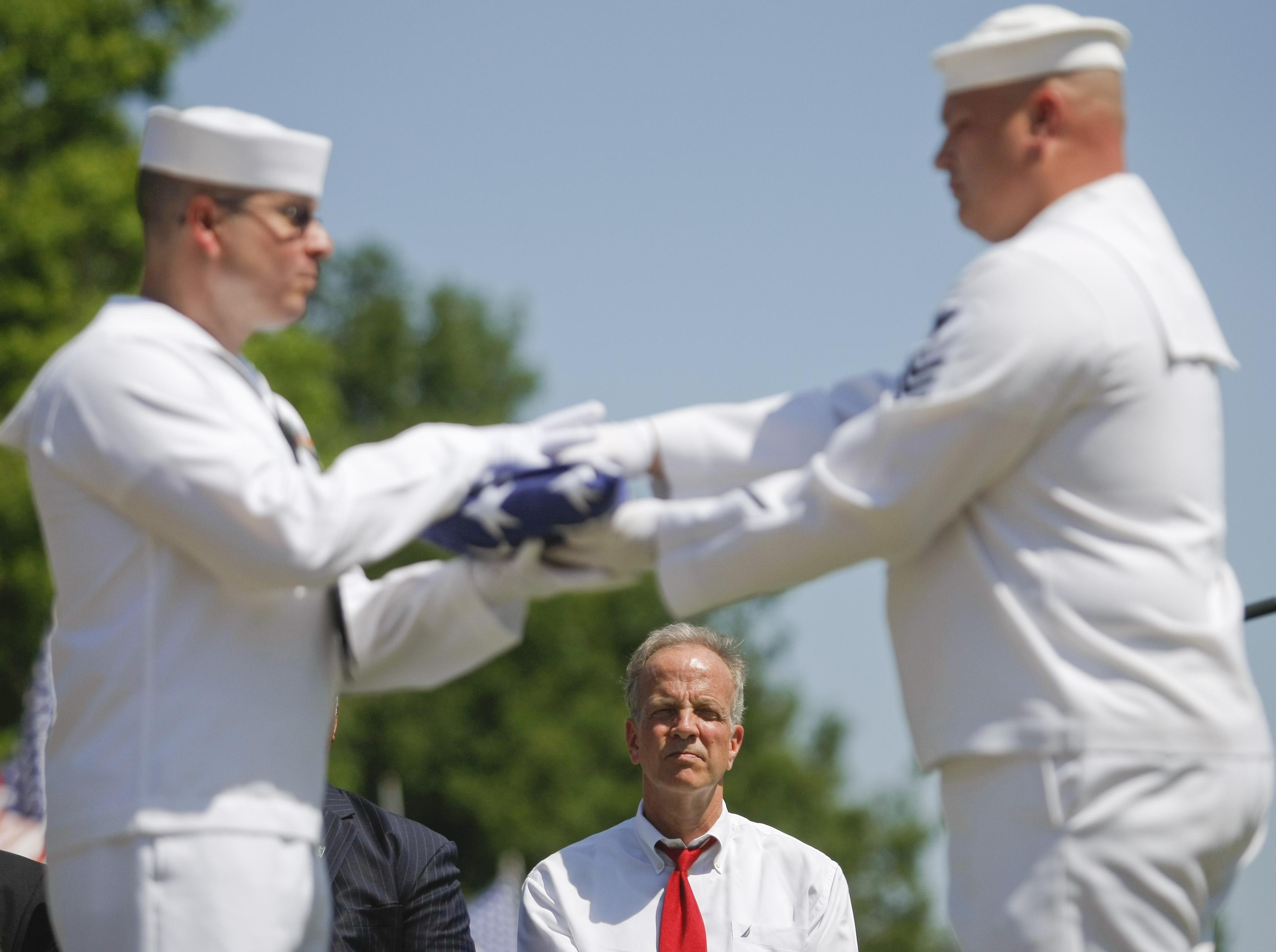Sen. Moran Delivers Remarks at Wichita Memorial Day Service