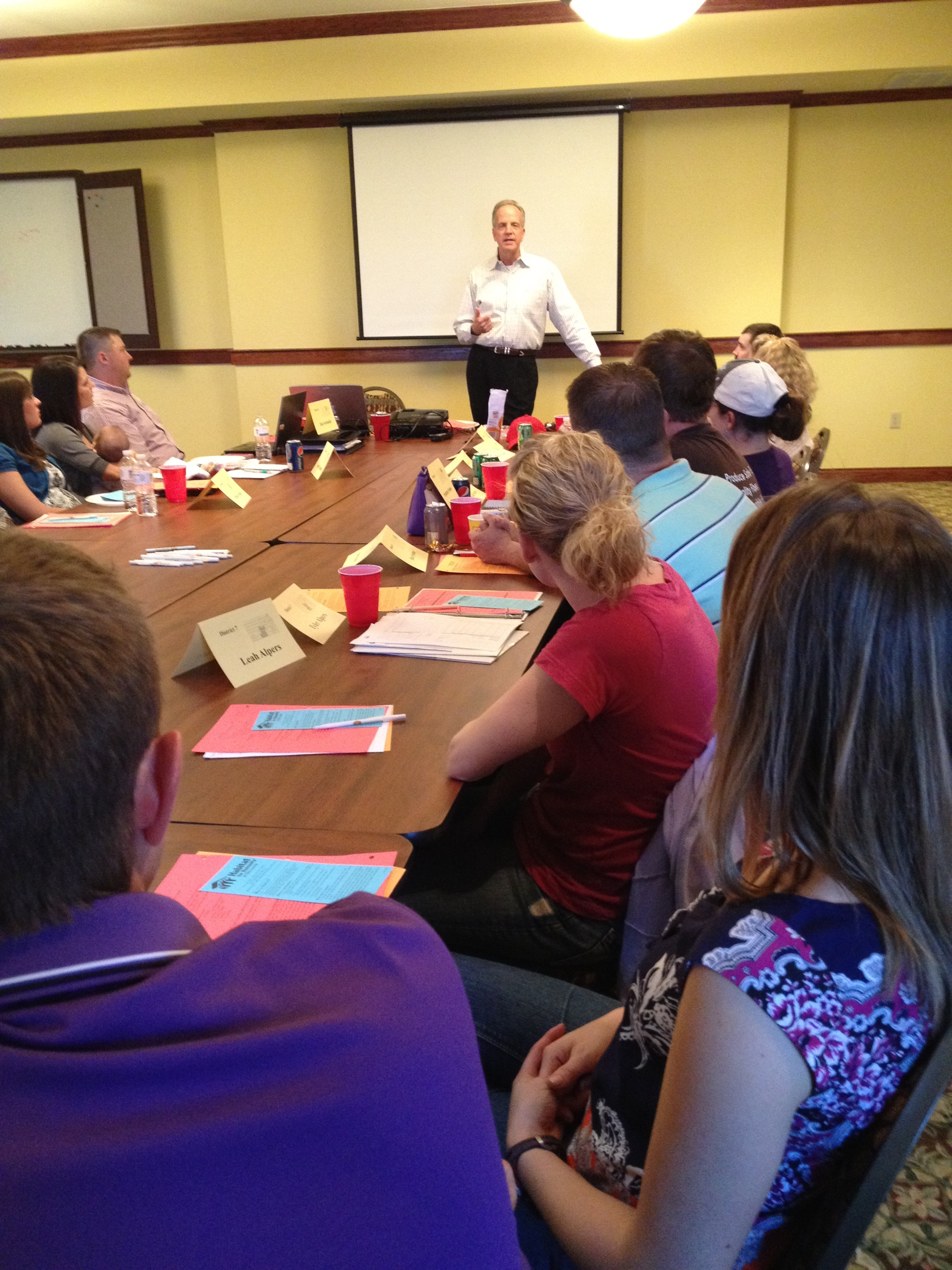 Speaking to KFB Young Farmers & Ranchers
