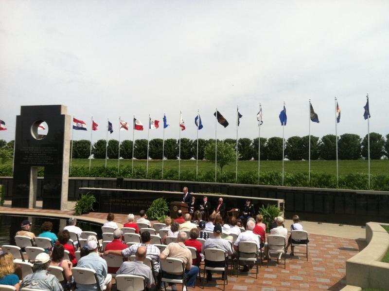 Sen. Moran Honors Veterans During Memorial Day Ceremony