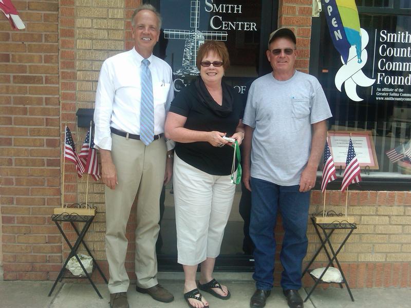 Sen. Moran Stops in Smith Center on Statewide Listening Tour