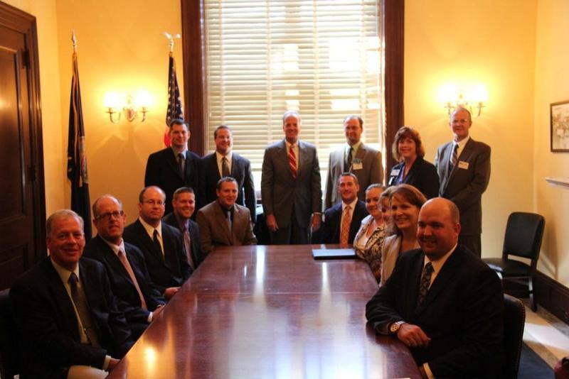 Sen. Moran met with members of Kansas Grain and Feed Association and Kansas Agribusiness Retailers Association