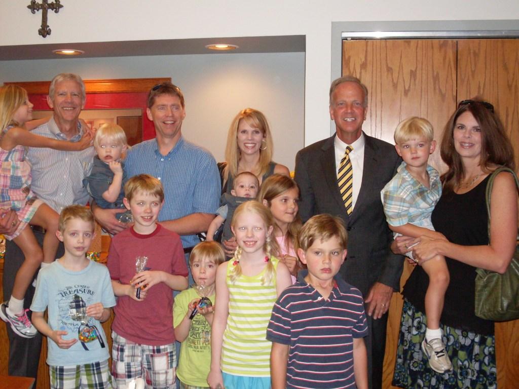 Sen. Moran Congratulates Earl Watkins on Upcoming Retirement
