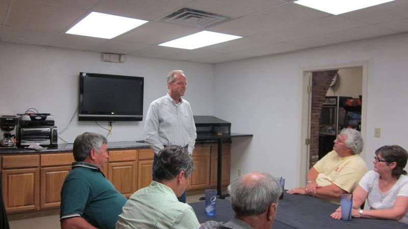 Sen. Moran hosts town hall meeting in Neodesha
