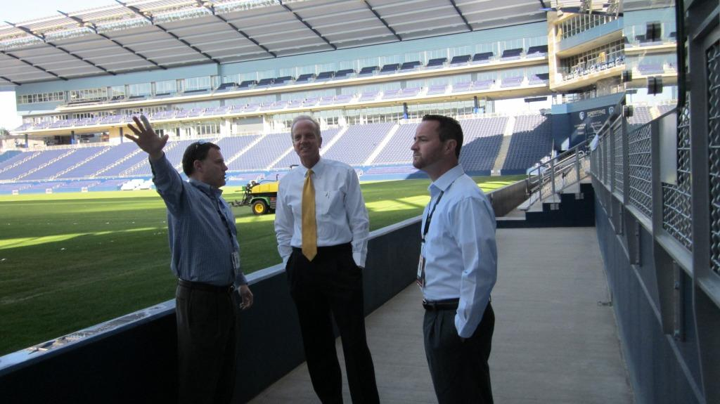 Touring Livestrong Sporting Park
