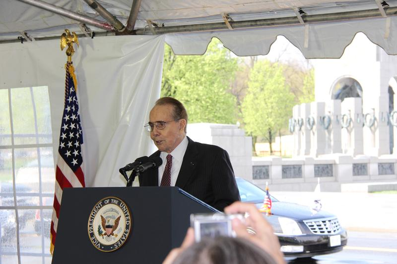 Sen. Dole Being Honored for His Work Establishing WWII Memorial