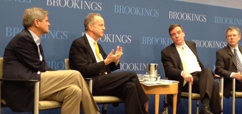 Sens. Moran and Warner join Steve Case at Brookings Institute