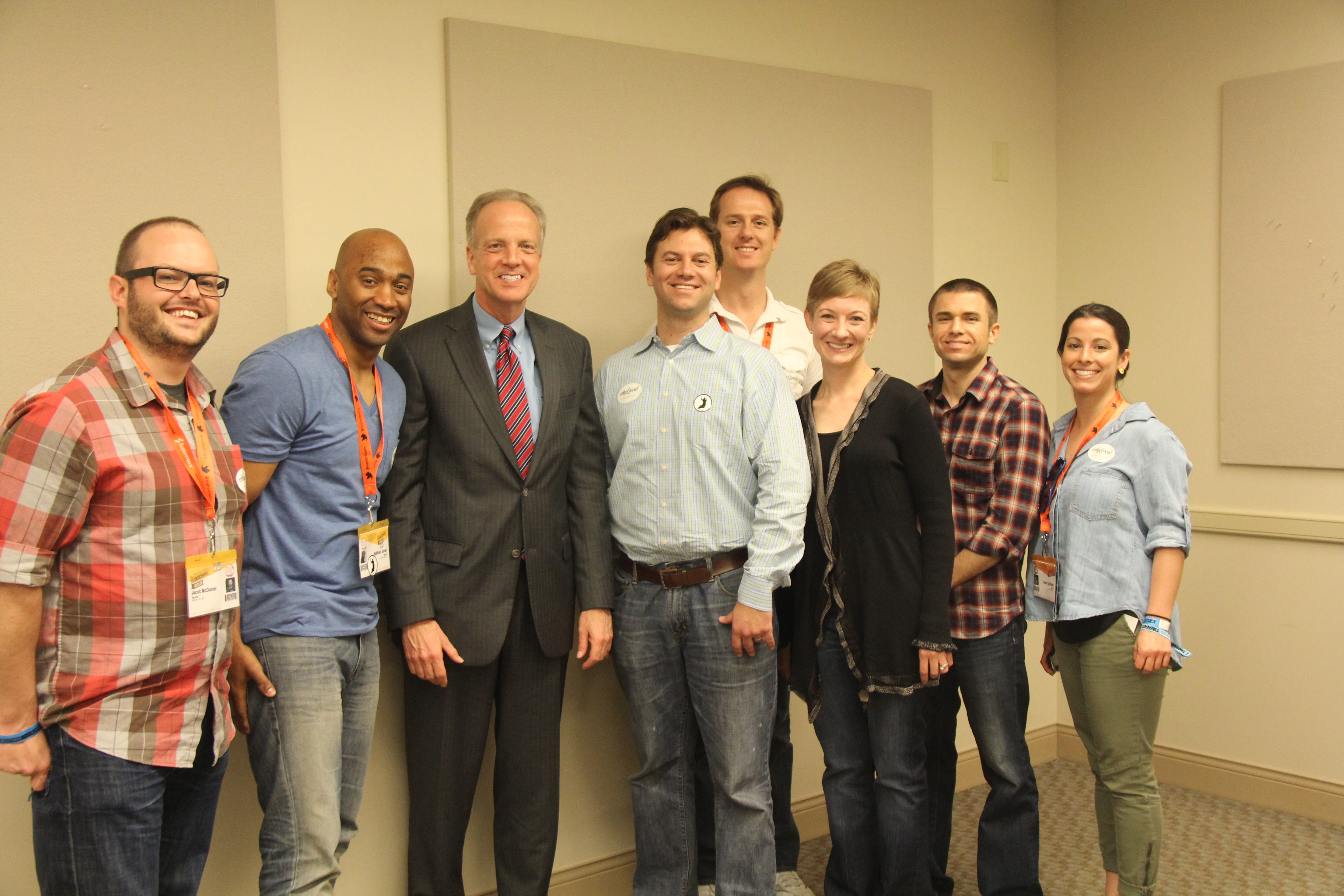 Sen. Moran Meets with KS Entrepreneurs