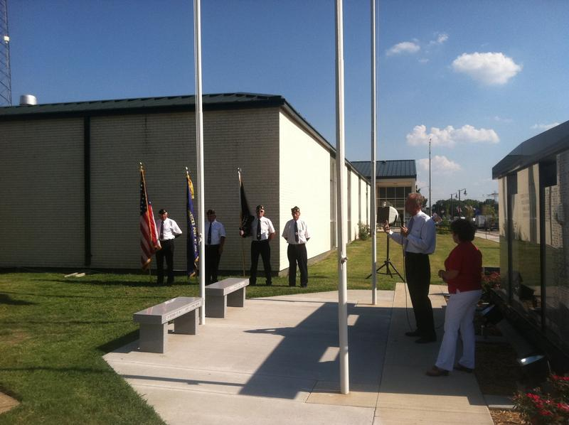 Annual Reading of the Names on Veterans Memorial Wall