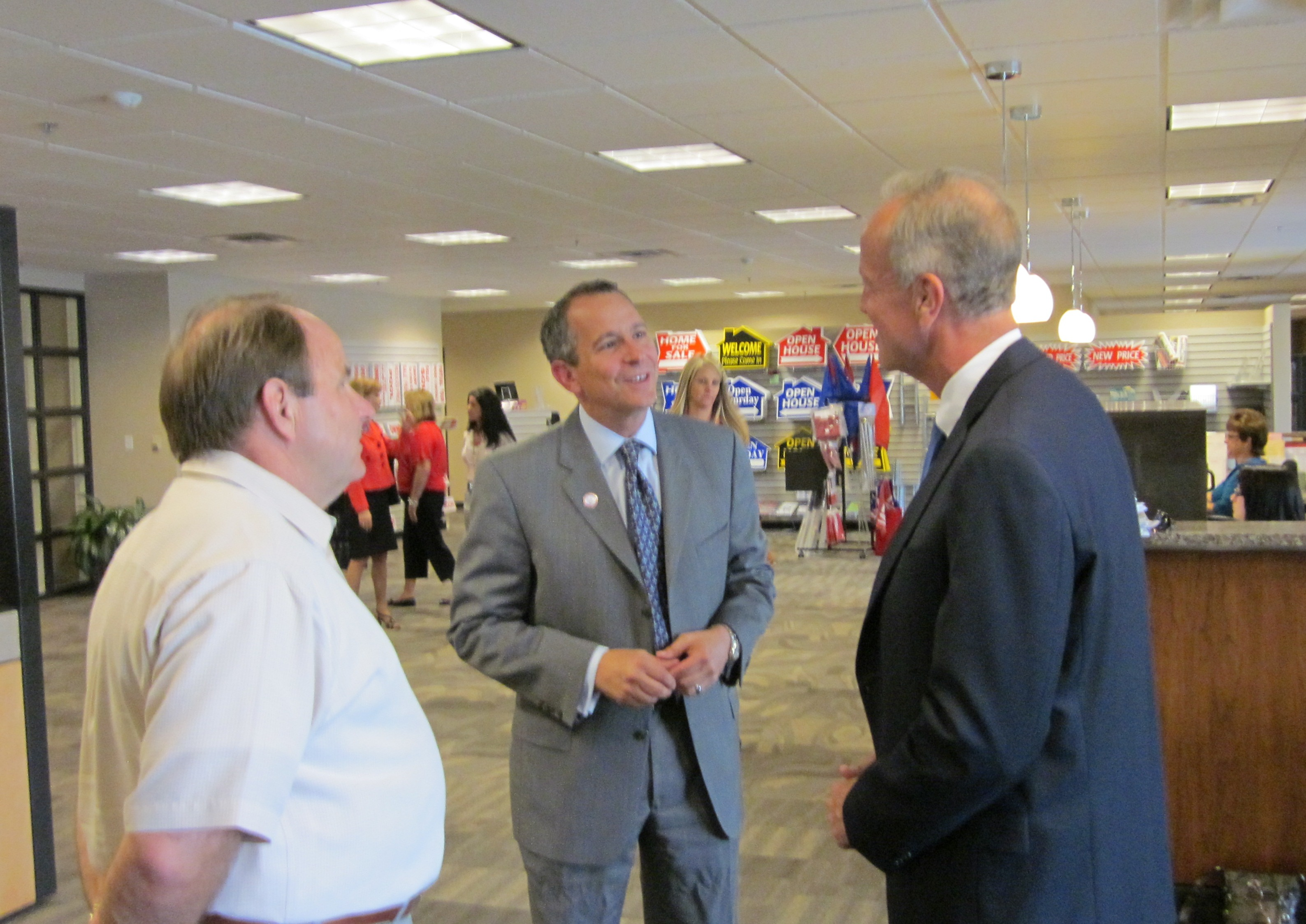 Sen. Moran Meets with Kansas Realtors