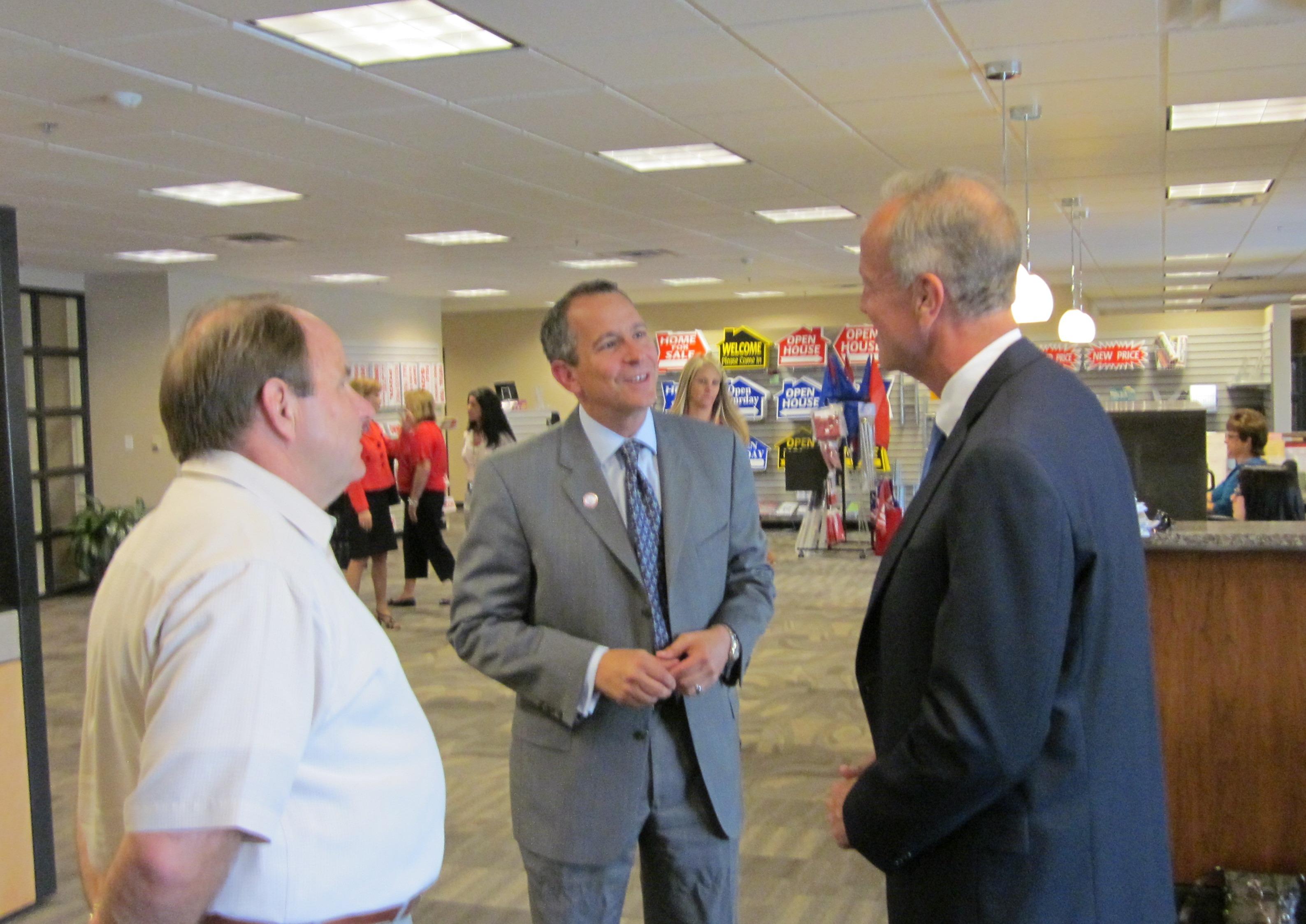 Sen. Moran Meets with Kansas Realtors