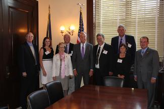 Sen. Moran meets with National Farmers Union